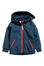 Softshell jacket - Dark blue -  | H&M 2