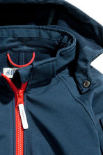 Softshell jacket - Dark blue -  | H&M 3