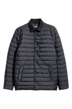 Quilted jacket - Dark blue - Men | H&M CA 2