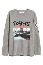 Dark grey/Skateboard