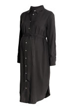 MAMA Shirt dress - Black - Ladies | H&M CN 2