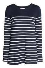 MAMA Nursing jumper - Dark blue/Striped - Ladies | H&M 2