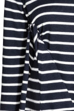 MAMA Nursing jumper - Dark blue/Striped - Ladies | H&M 4