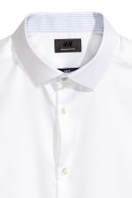 Overhemd van premium cotton - Wit - HEREN | H&M NL 4