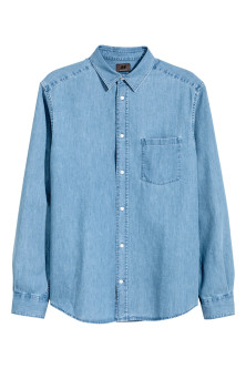 Premium cotton denim shirt