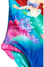 Printed swimsuit - Turquoise/The Little Mermaid - Kids | H&M CN 2