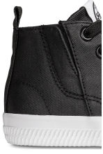 Waxed trainers - Black - Kids | H&M 5