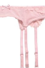 Suspender belt - Vintage pink - Ladies | H&M 3