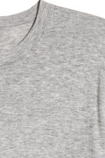Premium cotton jumper - Grey marl - Men | H&M 3