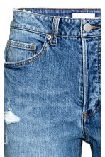 Relaxed High Jeans - Denim blue trashed - Ladies | H&M 4