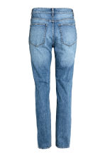 Relaxed High Jeans - Blu denim trashed - DONNA | H&M IT 3