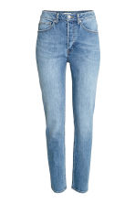 Relaxed High Jeans - Denim blue - Ladies | H&M CN 2