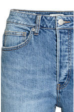 Relaxed High Jeans - Denim blue - Ladies | H&M CA 4