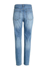 Relaxed High Jeans - Denim blue - Ladies | H&M CN 3