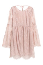 Lace dress - Vintage pink - Ladies | H&M 2