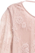 Lace dress - Vintage pink - Ladies | H&M CN 3