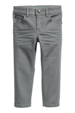 Pantaloni stretch Slim fit - Grigio scuro -  | H&M IT 2