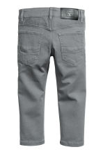 Pantalon stretch Slim fit - Gris foncé -  | H&M FR 3