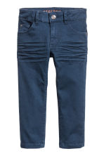 Stretch trousers Slim fit - Dark blue - Kids | H&M CN 2