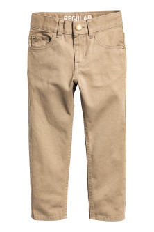 Pantalon en twill Regular fit