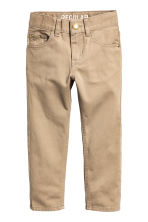 Twill trousers Regular fit - Beige - Kids | H&M CN 2