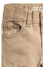 Twill trousers Regular fit - Beige - Kids | H&M CN 5