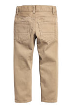 Twill trousers Regular fit - Beige - Kids | H&M 3