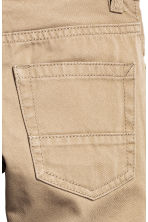 Twill trousers Regular fit - Beige - Kids | H&M 4