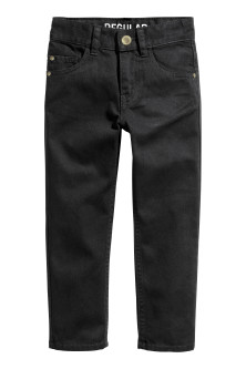 Twill trousers Regular fit