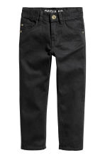 Twill trousers Regular fit - Black - Kids | H&M CN 2