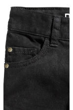 Twill trousers Regular fit - Black - Kids | H&M CN 3