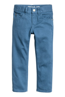 Twill broek - Regular fit