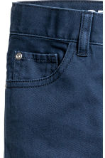 Twill trousers Regular fit - Dark blue - Kids | H&M 3