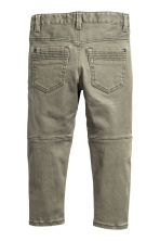 Shaped leg trousers - Light khaki green - Kids | H&M 3