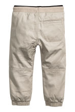 Pull-on trousers - Light mole - Kids | H&M CN 3