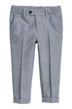 Suit trousers - Dark blue marl - Kids | H&M 2