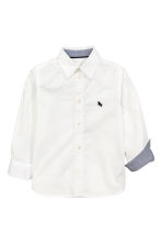 Cotton shirt - White - Kids | H&M 2