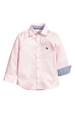 Cotton shirt - Light pink -  | H&M CN 2