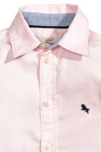 Cotton shirt - Light pink - Kids | H&M 3