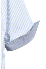 Cotton shirt - Light blue/Striped - Kids | H&M 4