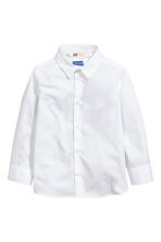 Easy-iron shirt - White - Kids | H&M CN 2