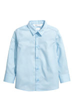 Easy-iron shirt - Light blue - Kids | H&M 2