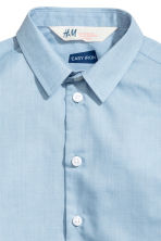 Easy-iron shirt - Light blue - Kids | H&M 5