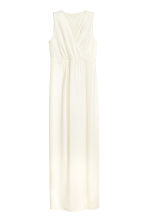 MAMA Maxi dress - Natural white -  | H&M CN 2