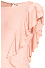 MAMA Frilled top - Powder pink - Ladies | H&M 3