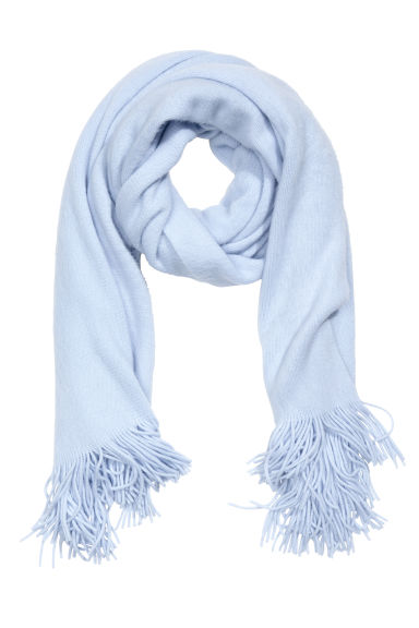 Large scarf - Light blue - Ladies | H&M 1