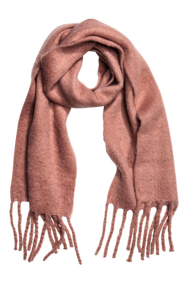 Long scarf - Vintage pink - Ladies | H&M CN 1