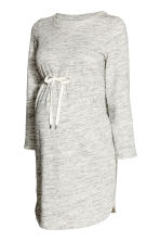MAMA Sweatshirt tunic - Light grey marl - Ladies | H&M CN 2