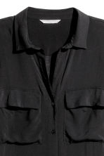 Viscose shirt - Black - Ladies | H&M 3