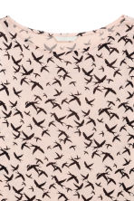 Long-sleeved top - Powder/Birds - Ladies | H&M 3